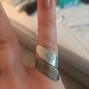 Vintage Silver World's Fair NY Ring